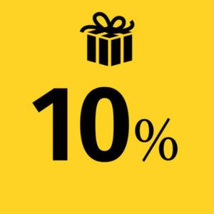englishdom семейная акция со скидкой 10%
